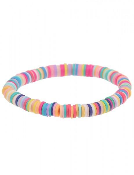 Leslii Damen-Armband Gummi-Armband Silikon-Schmuck Urlaub bunter Armschmuck leichtes Armband Modesch