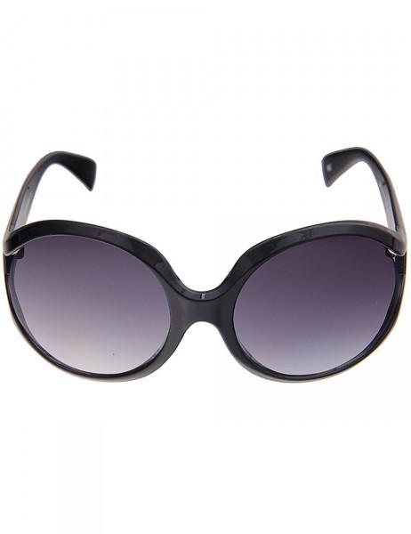 -50% SALE Leslii Sonnenbrille Damen Boho-Look schwarze Designer-Brille Sunglasses in Schwarz