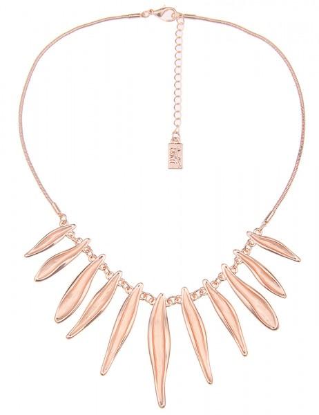 Leslii Damen-Kette Business-Look Rosé Metalllegierung 43cm + Verlängerung 210115674