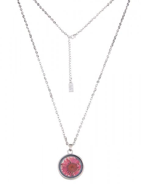 Leslii Damen-Kette Little Flower Metalllegierung 90cm + Verlängerung 220115976