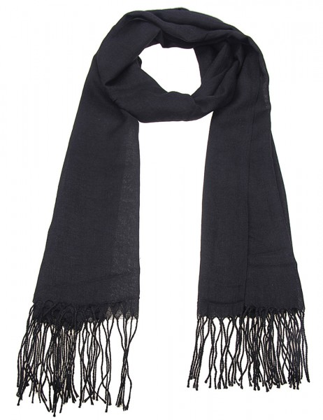 Leslii Damen-Schal Uni Trend 100% Viskose 182cm x 67cm 900116055