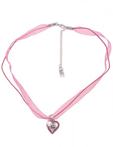 kurze Halskette - 18/pink