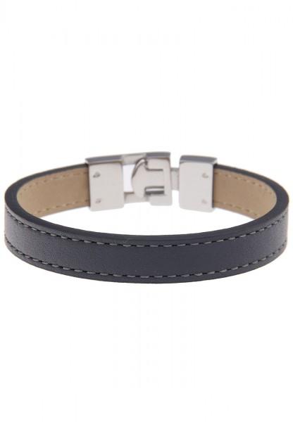LAST CHANCE Leslii Premium Uni Grau | Trendiges Armband | Damen Leder-Schmuck | 19cm