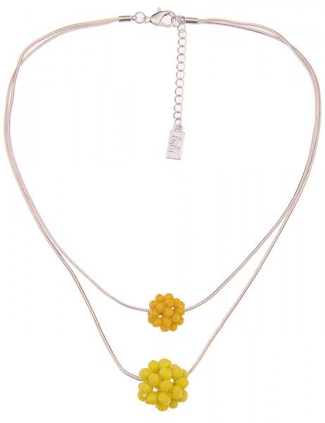 kurze Halskette - 07/gelb