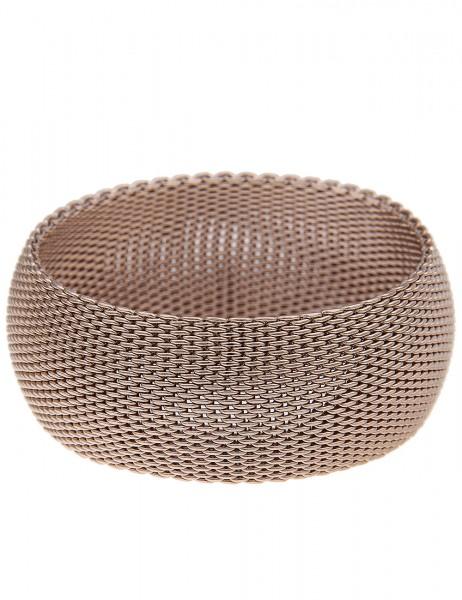 Leslii Damen-Armband Premium Mesh-Look Metalllegierung 20cm 260315622
