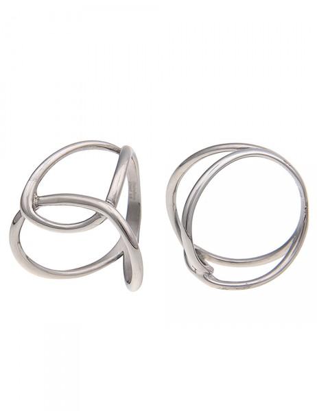 -50% SALE Leslii Damen-Ring Premium Quality Swing Edelstahl Größe 17mm, 18mm oder 19mm 250115886