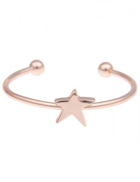 -70% SALE Leslii Armband Armreif Glanz-Stern Rosé   Damen-Armband Mode-Schmuck   Länge: 19cm