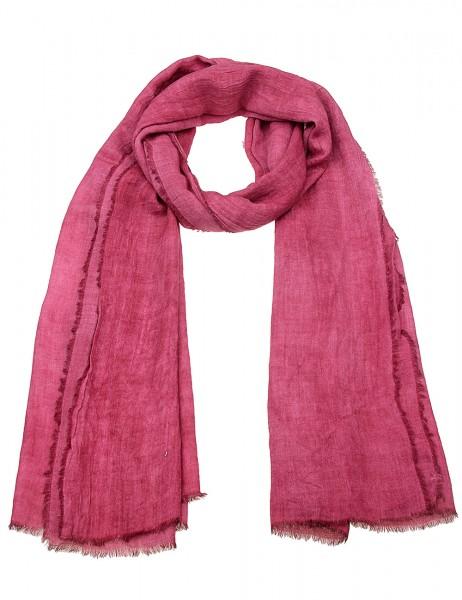 -50% SALE Leslii Damen-Schal Uni Look 50% Viskose, 50% Polyester 180cm x 74cm Bordeaux 900417143