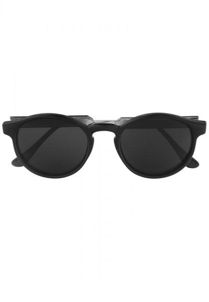 -70% SALE Leslii Sonnenbrille Happy Hippie in Schwarz