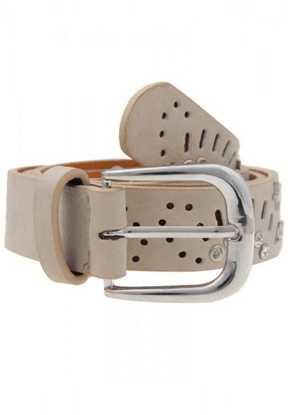 -70 % SALE / Gürtel Cut Out beige 80cm