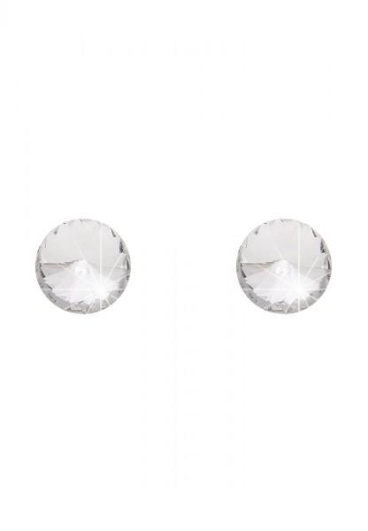 Ohrstecker Little Diamonds Weiß