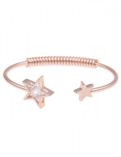 Sale Armband Armreif Stern - 21/rose gold