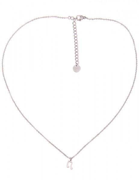 Leslii 4teen Damenkette Musik-Note aus Metalllegierung Länge 39cm in Silber