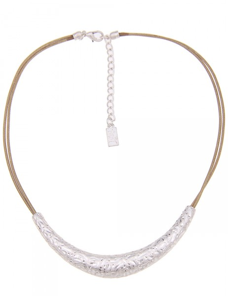 kurze Halskette - 08/braun