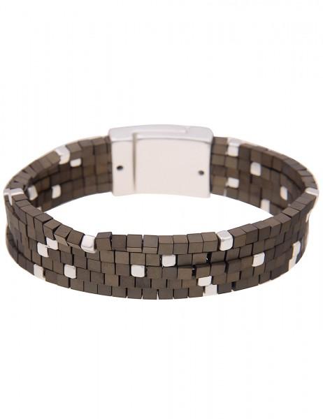 Armband - 13/grau