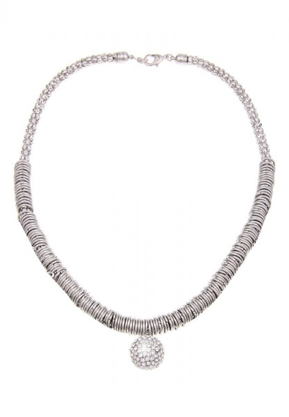 kurze Halskette - 1/silber