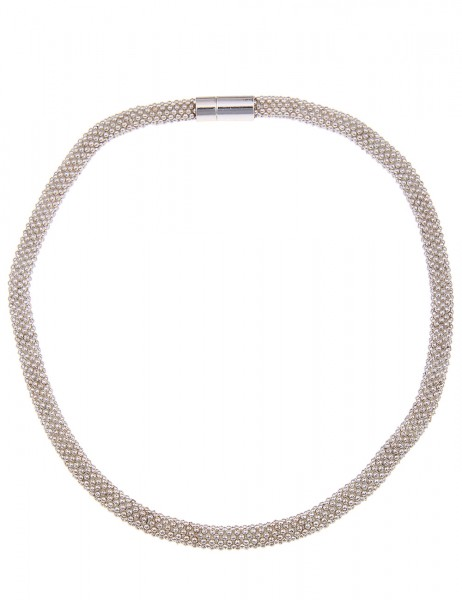Leslii Graceful Silber | Trendige kurze Kette | Damen Mode-Schmuck | 45cm