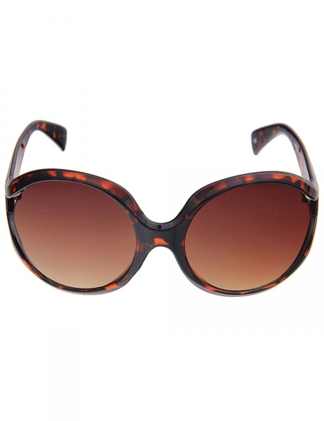 -50% SALE Leslii Sonnenbrille Damen Boho-Style Horn-Look Havana braune Designerbrille Sunglasses