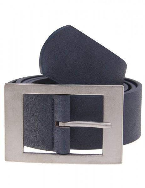 Leslii Gürtel Business Dunkel-Blau | Damen-Gürtel Mode-Accessoire | Breite 3,6cm
