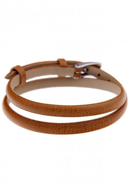 LAST CHANCE Leslii Premium Trendy Braun | Trendiges Wickelarmband | Damen Leder-Schmuck | 40cm