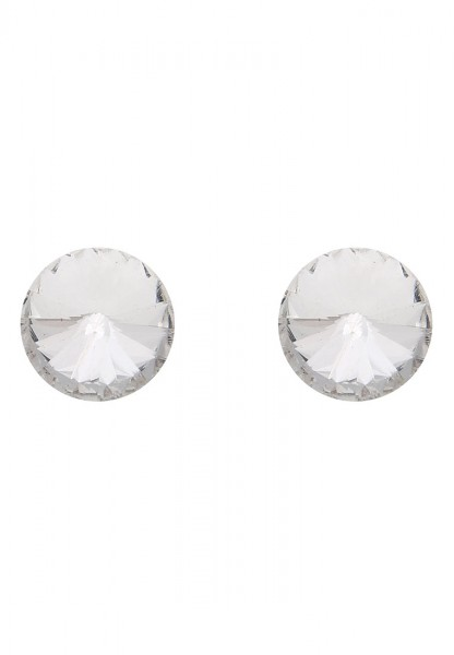Ohrstecker Diamond Style Weiß