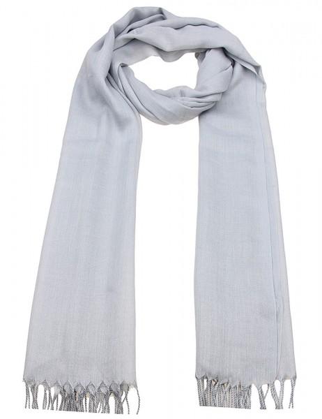 -50% SALE Leslii Damen-Schal Uni Trend 100% Viskose 182cm x 67cm 900316055