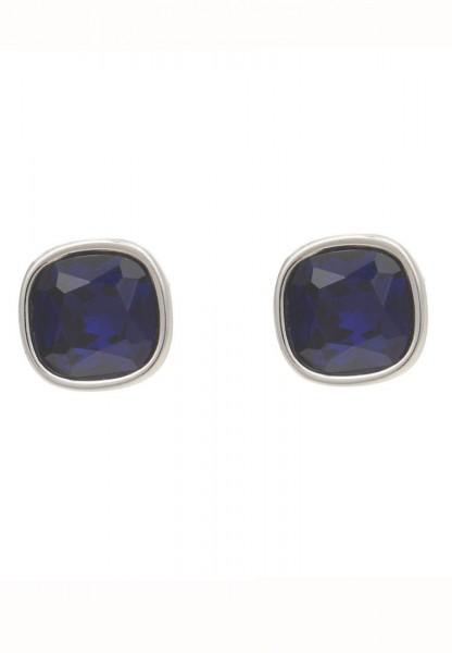 -50% SALE Leslii Ohrringe Ohrstecker Crystal blau
