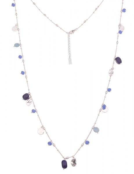 Leslii Halskette mit blauen Steinen