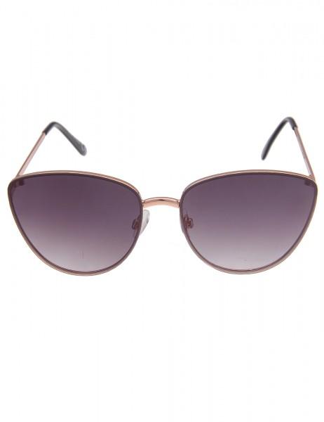 Leslii Sonnenbrille Damen Cateye-Style Classic Designerbrille Statement-Brille Katzenaugen Sunglasse