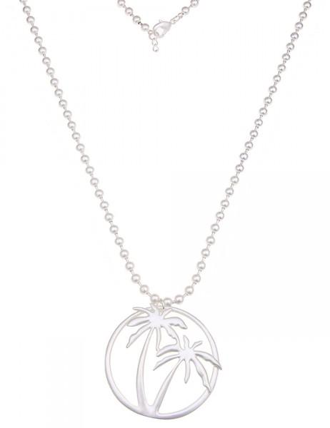 -50% SALE Leslii Damen-Kette Summer Feeling Silber Metalllegierung 80cm + Verlängerung 220115828