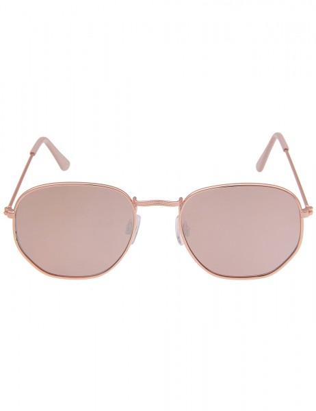 Leslii Sonnenbrille Damen Kanten-Style Designerbrille Statement-Brille Retro eckige Gläser Sunglasse