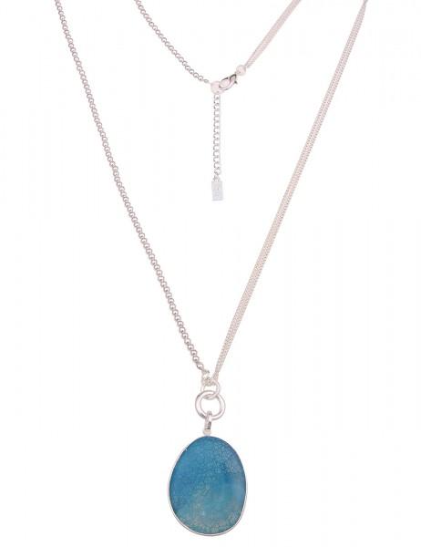 lange Halskette - 03/blau