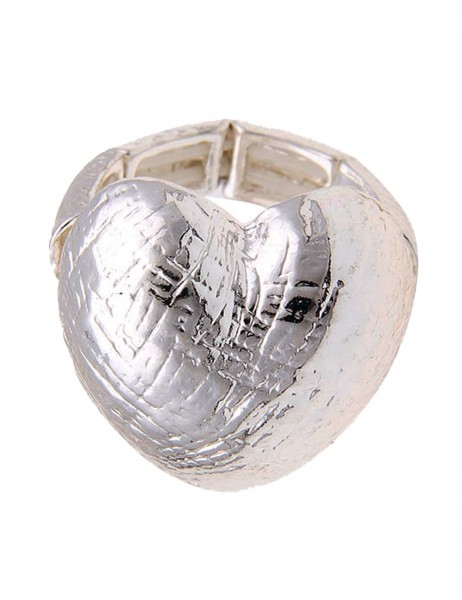 LAST CHANCE! Leslii Ring Big Heart in Silber