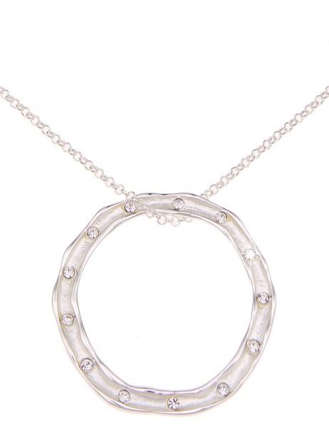 Leslii Halskette Everyday Silber | kurze Damen-Kette Mode-Schmuck | 44cm + Verlängerung