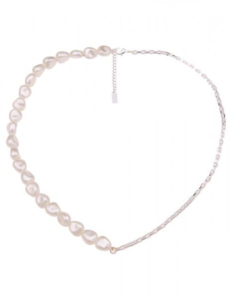 kurze Halskette Doreen - 01/silber
