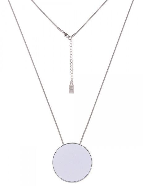 lange Halskette - 12/weiss