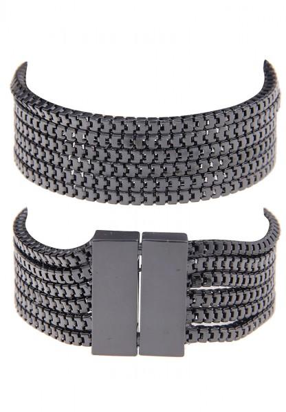 -70% SALE Leslii Damen-Armband Statement Look Metalllegierung 20cm Magnet-Verschluss 260214019