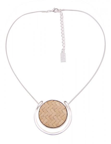 kurze Halskette - 14/beige
