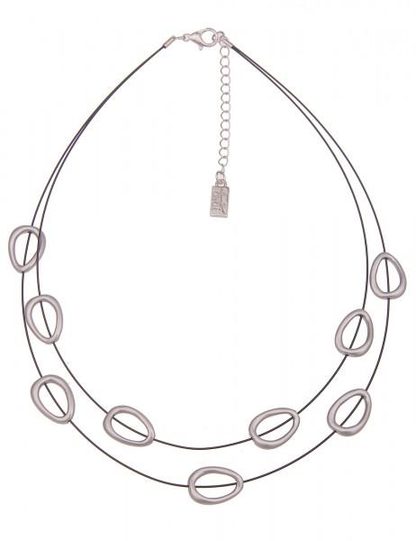 kurze Halskette Merle - 09/schwarz