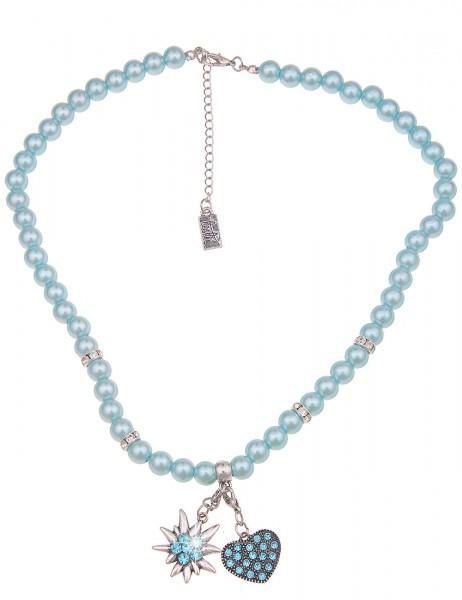 kurze Halskette Heidi - 03/blau