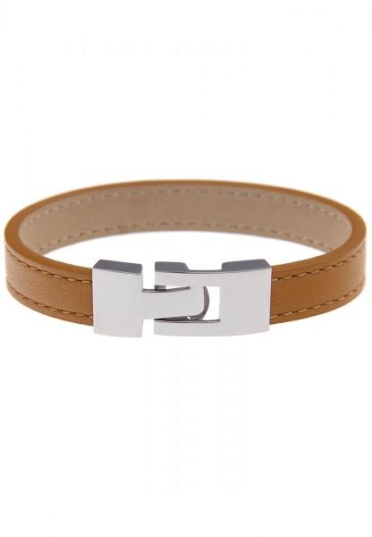 LAST CHANCE Leslii Premium Uni Edelstahl Leder 19cm Braun 260313501