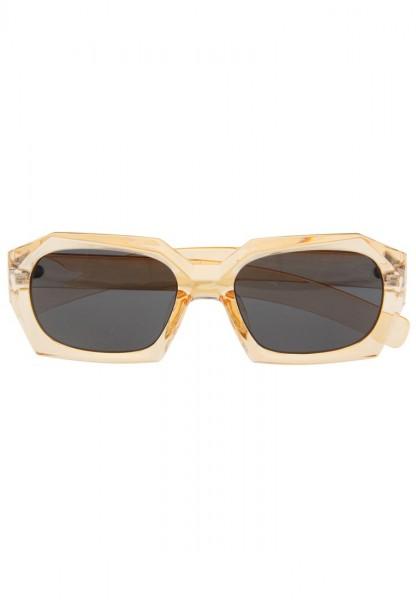 -50% SALE Leslii Damen-Sonnenbrille Angular Orange Apricot Kunststoff Ø Glas 6,5cm 310310118
