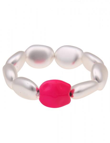Leslii Damenarmband Armreif Neon Statement-Armband Disco 90er-Party Modeschmuck-Armband Länge 19cm i