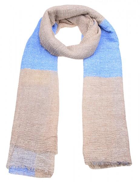 Schal - 03/blau