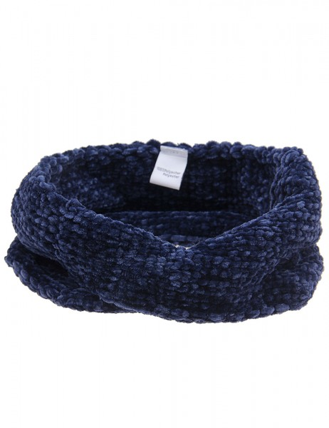 -50% SALE Leslii Damen Stirnband Winter Strickmuster aus Polyester Größe One Size in Blau
