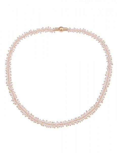 kurze Halskette Melanie - 12/weiss
