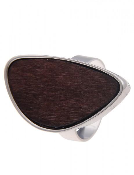 Leslii Damen-Ring Holz-Look Metalllegierung Größe verstellbar 250114515