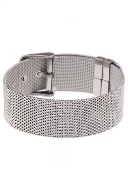 -50% SALE Leslii Premium Quality Mesh-Armband Edelstahl | modernes Damen-Armband | Länge: verstellba