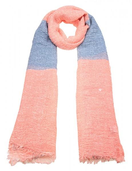 -50% SALE Leslii Damen-Schal Color Squares Baumwolle-Polyester 172cm x 94cm 900216051