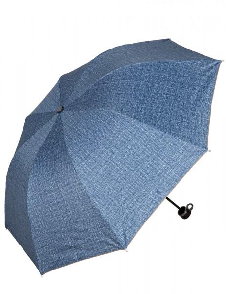 -50% SALE Leslii Regen-Schirm Muster-Spiel Blau | Damen-Schirm Mode-Accessoire | Ø 99cm